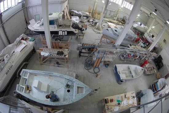 оборудование для изготовления лодок из пластика