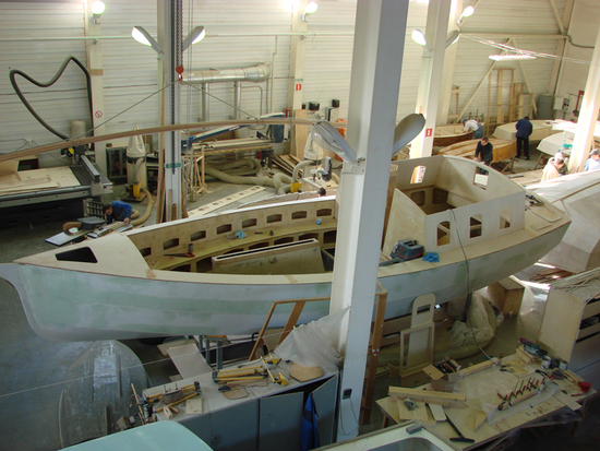 цех по производству лодок