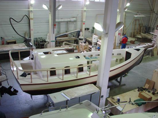 производство корпуса лодок и катеров