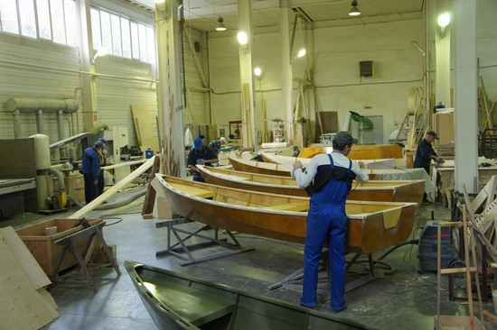 цех за производству лодок